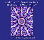 61-Point, 5-Pointed Star, Blue Light Meditation